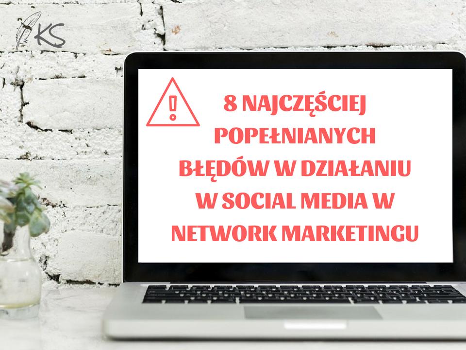 Co trzeba zrobić, żeby być skutecznym Network Marketingowcem w mediach społecznościowych i jakich błędów nie popełniać. W tym szkoleniu otrzymasz ode mnie gotowe rozwiązania.